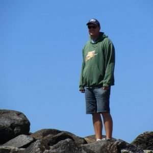 me on the rocks